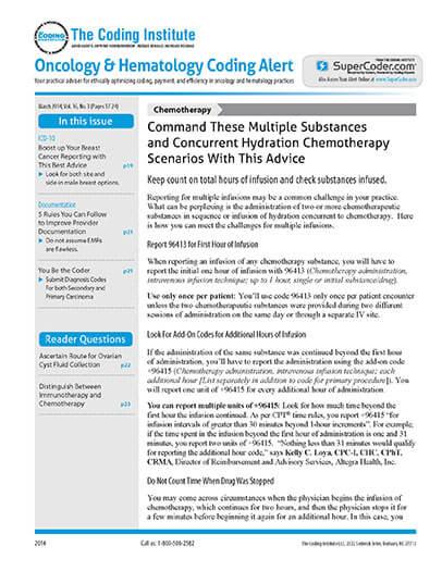 Oncology & Hematology Coding Alert Magazine