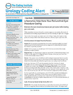 Latest issue of Urology Coding Alert Magazine