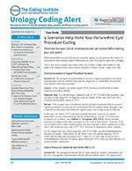 Urology Coding Alert 1 of 5