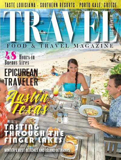 Latest issue of Food and Travel