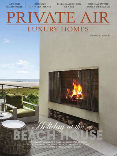 Latest issue of Private Air Luxury Homes Magazine