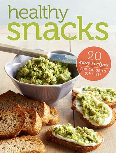 Cover of Healthy Snacks digital PDF