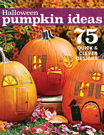 Cover of Halloween Pumpkin Ideas digital PDF