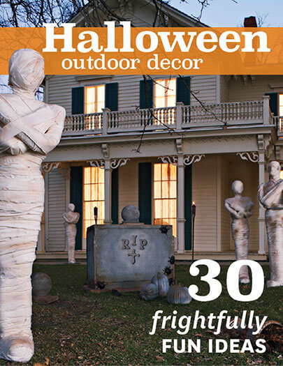 Cover of Halloween Outdoor Décor digital PDF