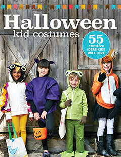Cover of Halloween Kid Costumes digital PDF