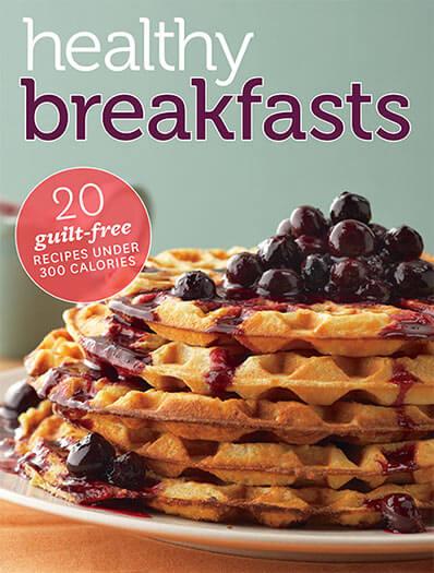 Cover of Healthy Breakfasts digital PDF