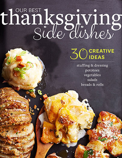 Cover of Our Best Thanksgiving Side Dishes digital PDF