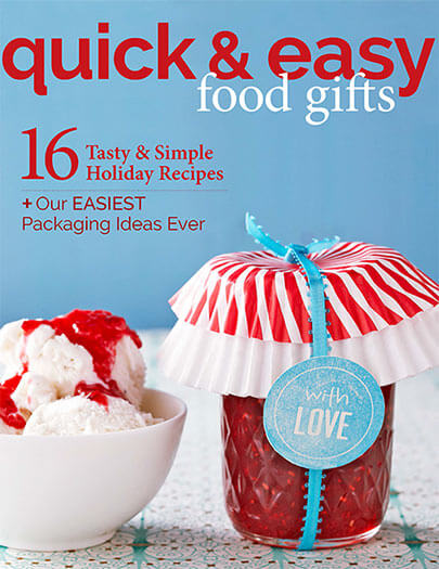 Cover of Quick & Easy Food Gifts digital PDF