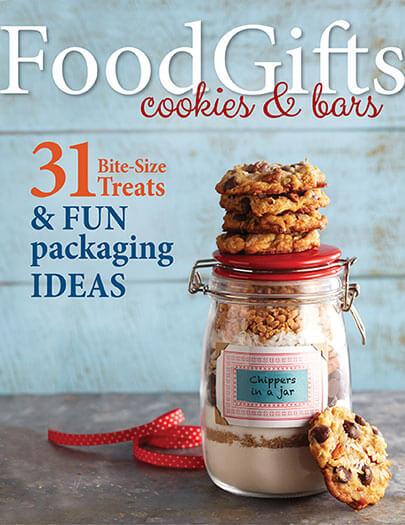 Cover of Food Gifts - Cookies & Bars digital PDF
