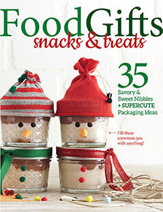 Cover of Food Gifts - Snacks & Treats digital PDF