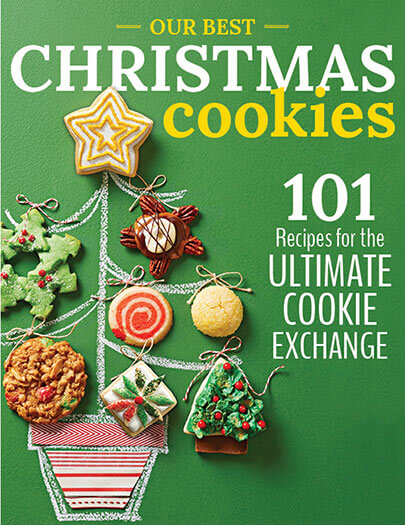 Cover of Our Best Christmas Cookies digital PDF