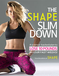 Cover of The Shape Slim Down digital PDF