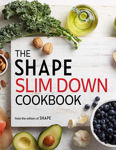Cover of The Shape Slim Down Cookbook digital PDF
