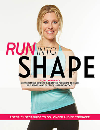 Cover of Run Into Shape digital PDF