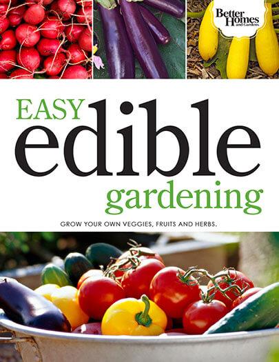 Cover of Easy Edible Gardening digital PDF