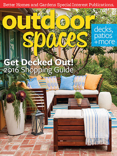 Cover of Outdoor Spaces 2016 digital PDF