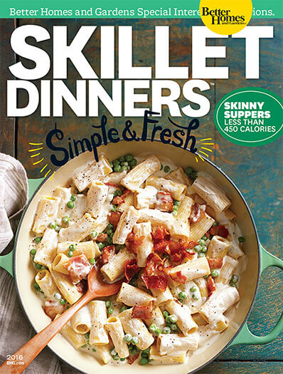 Cover of Skillet Dinners 2016 digital PDF