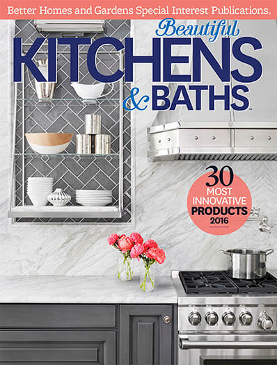 Cover of Beautiful Kitchens & Baths Spring 2016 digital PDF