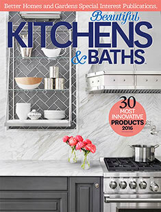 Cover of Beautiful Kitchens & Baths Spring 2016 digital PDF
