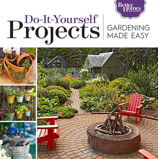 Cover of Gardening Made Easy: Do-It-Yourself Projects digital PDF