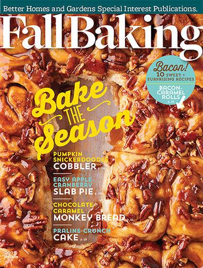 Cover of Fall Baking 2015 digital PDF