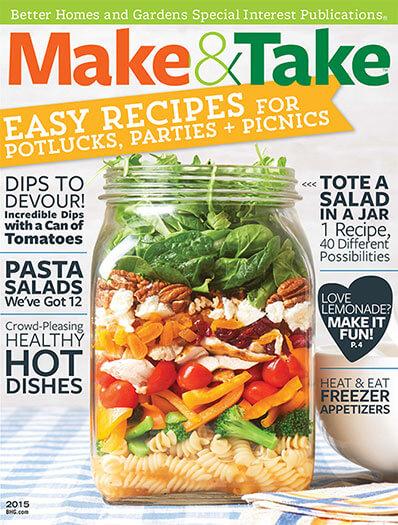 Cover of Make & Take 2015 digital PDF