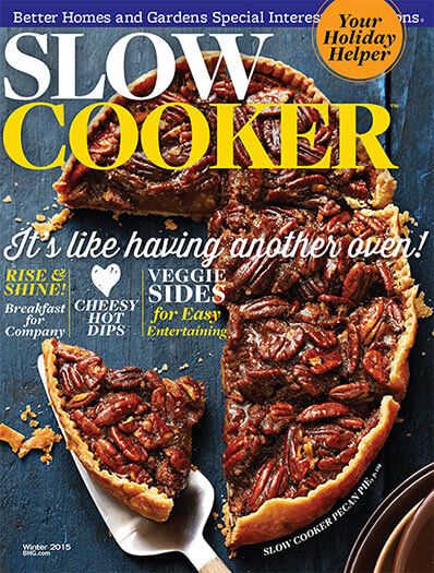 Cover of Slow Cooker Winter 2015 digital PDF
