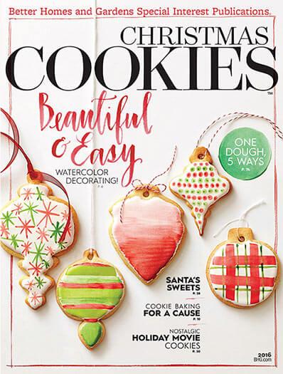 Cover of Christmas Cookies 2016 digital PDF