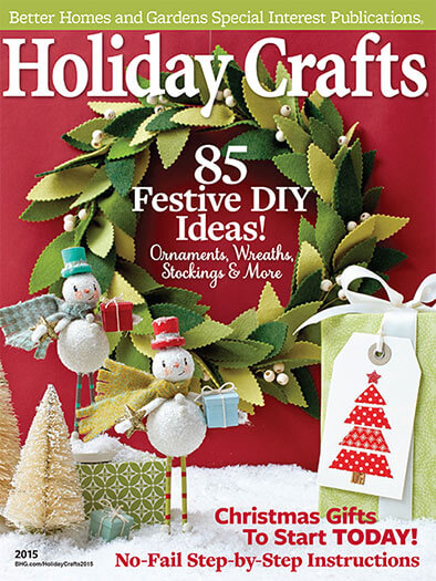 Cover of Holiday Crafts 2015 digital PDF