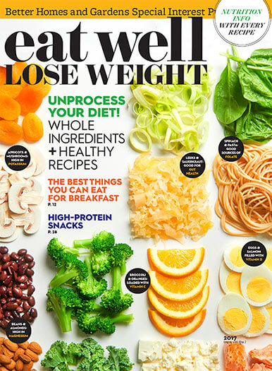 Cover of Eat Well Lose Weight 2017 digital PDF