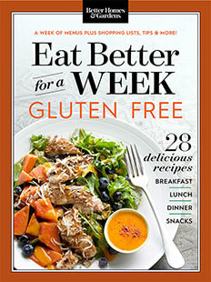 Cover of Eat Better For A Week: Gluten Free digital PDF