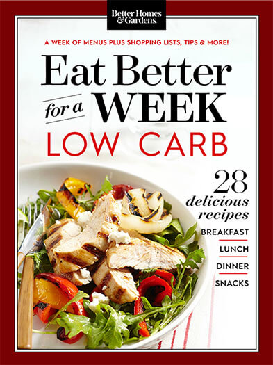Cover of Eat Better For A Week: Low Carb digital PDF