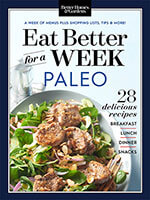 Eat Better For A Week: Paleo 1 of 5