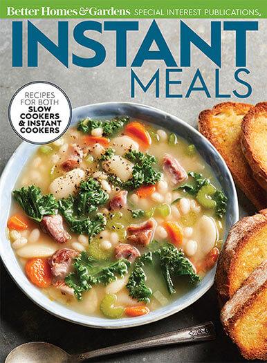 Cover of Instant Meals Instant Pot Recipes digital PDF