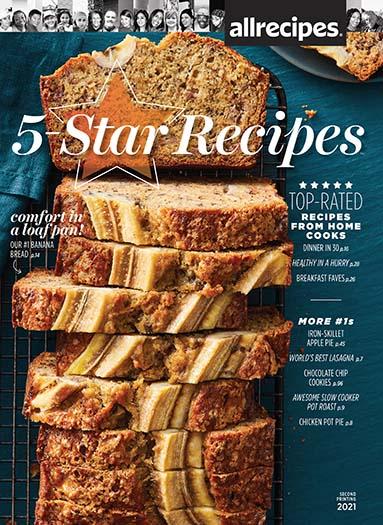 Cover of Allrecipes 5 Star Recipes