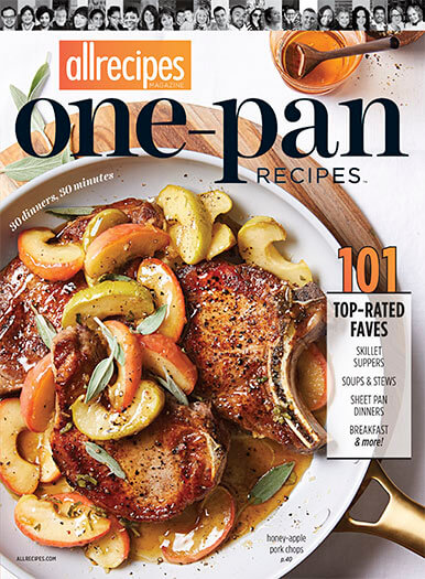 Cover of Allrecipes: One Pan Recipes