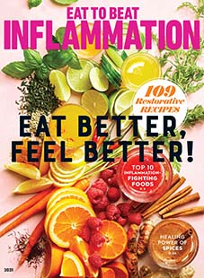 Cover of Eat To Beat Inflammation 2021