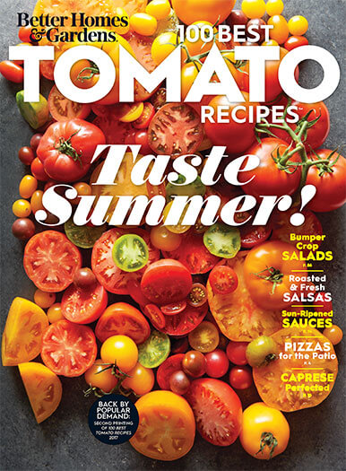 Cover of Better Homes & Gardens 100 Best Tomato Recipes