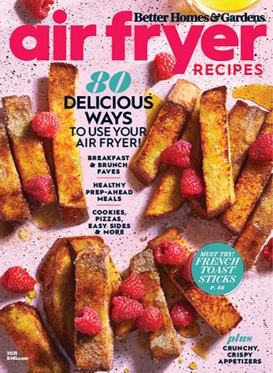 Cover of Better Homes & Gardens Air Fryer Recipes