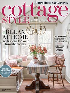 Cover of Better Homes & Garden Cottage Style Spring/Summer 2021