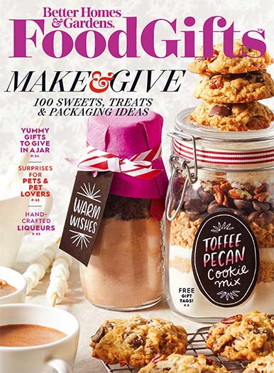 Cover of Better Homes & Gardens Food Gifts 2020