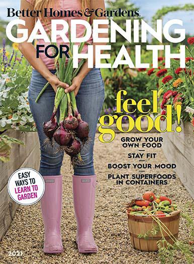 Cover of Better Homes & Gardens Gardening For Health