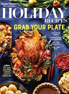 Cover of Better Homes & Gardens Holiday Recipes
