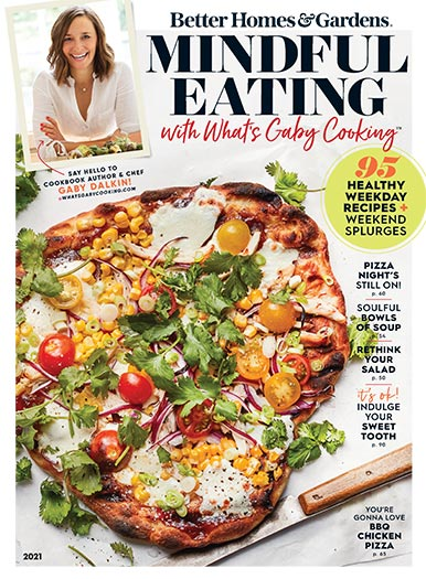 Cover of Better Homes and Gardens Mindful Eating with What's Gaby Cooking