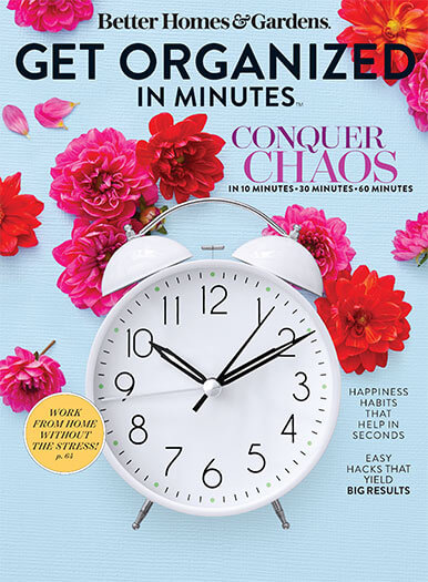 Cover of Better Homes and Gardens Get Organized in Minutes