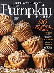 Cover of Better Homes & Gardens Best Pumpkin Recipes