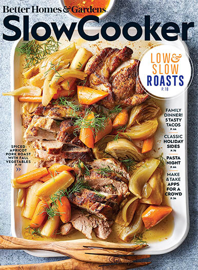 Cover of Better Homes & Gardens: Slow Cooker