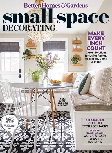 Cover of Better Homes & Gardens Small-Space Decorating 2020