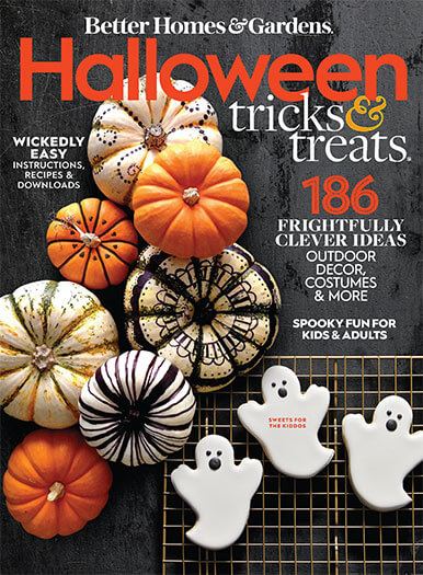 Cover of Better Homes & Gardens Halloween Tricks and Treats