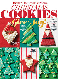 Cover of Better Homes & Gardens Christmas Cookies 2020